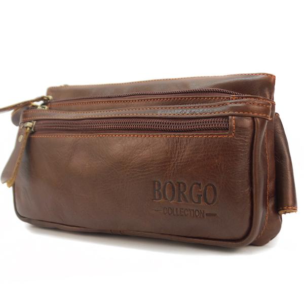 Мужская сумка на пояс Borgo Antico. Кожа. 2013 oil palm