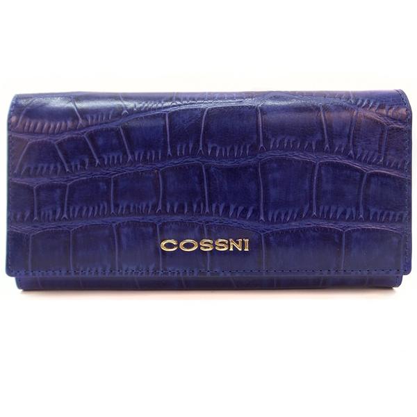 Кошелек Cossni. Кожа. 10152 blue