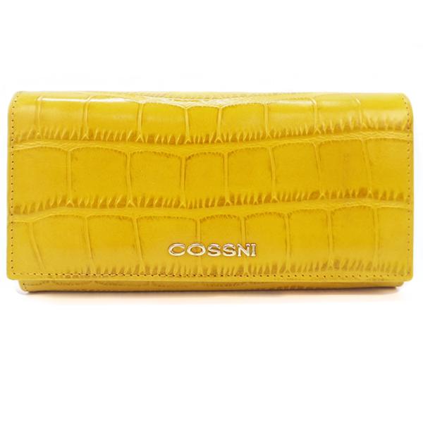 Кошелек Cossni. Кожа. 10152 yellow