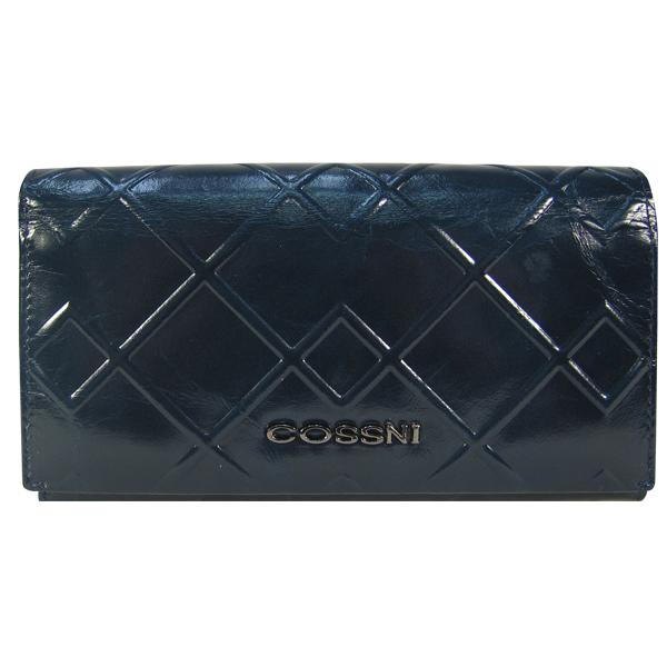 Кошелек Cossni. Кожа. 11635-1 dark blue
