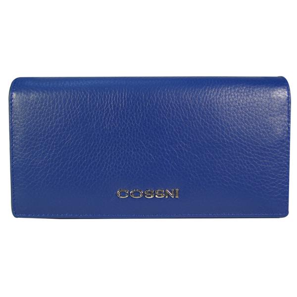 Кошелек Cossni. Кожа. 12153 dark blue