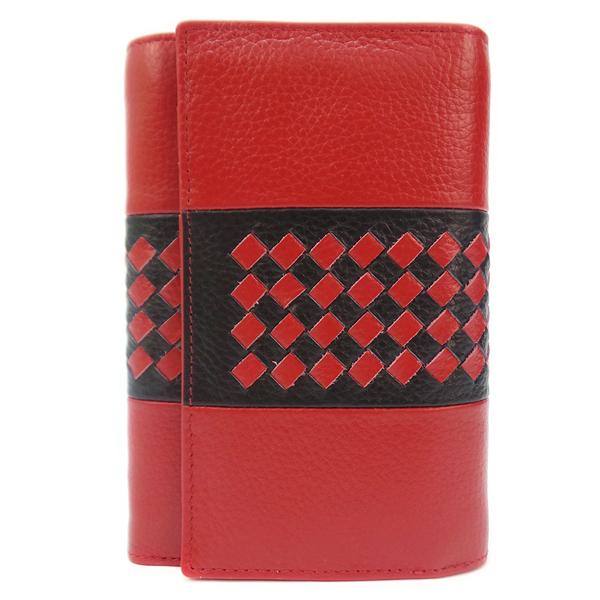 Кошелек Cossni. Кожа. 12253 red