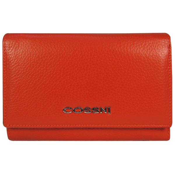 Кошелек Cossni. Кожа. C15-12253 orange