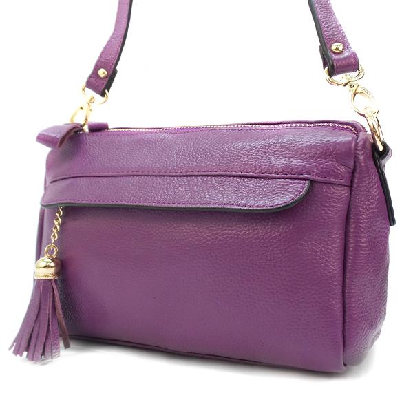 Сумка женская Borgo Antico. Кожа. 0760 purple