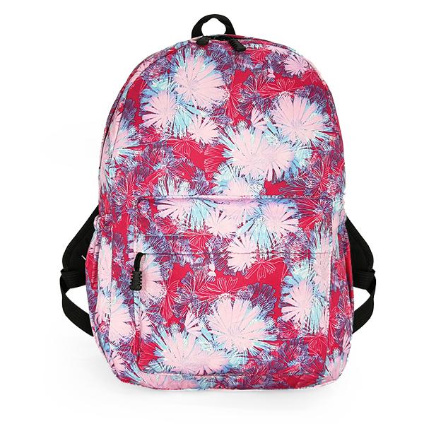 Рюкзак. 0168 pink flowers