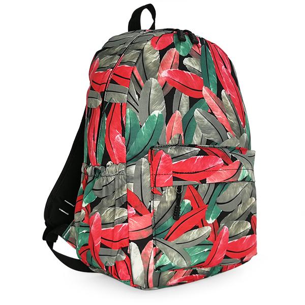 Рюкзак. 0168 red/green