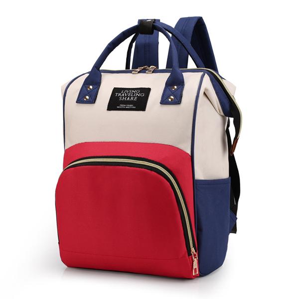 Сумка - рюкзак для мамы. 1888 multicolor