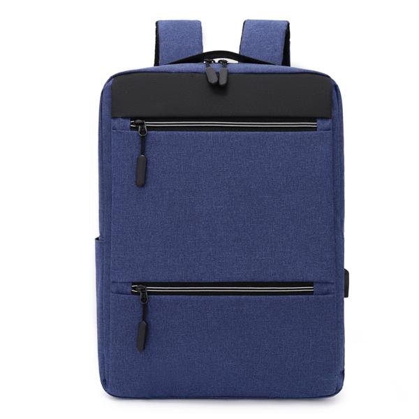 Рюкзак с USB портом. 7755 blue