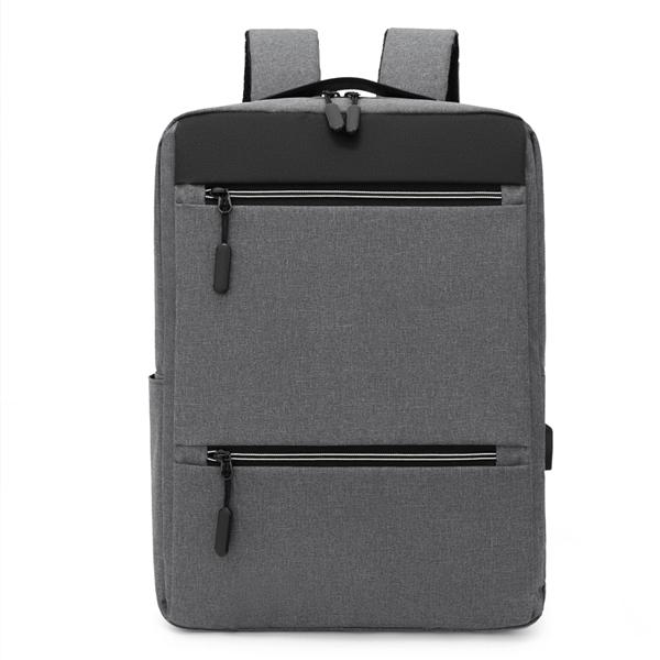 Рюкзак с USB портом. 7755 grey