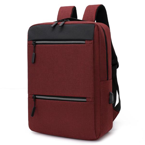 Рюкзак с USB портом. 7755 red