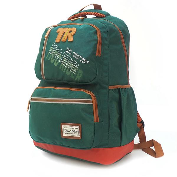 Рюкзак Tico Rider. 100796 dark green