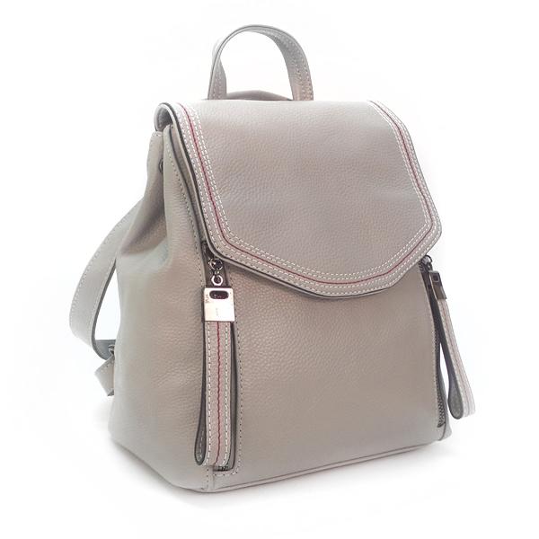 Рюкзак-сумка Borgo Antico. Кожа. 1898 grey