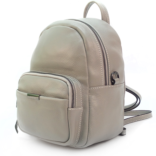Рюкзак-сумка Borgo Antico. Кожа. 1905 grey