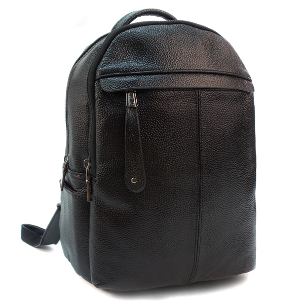 Женский рюкзак Borgo Antico. Кожа. 6020 black