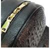 Женский рюкзак Borgo Antico. Кожа. 6021 black