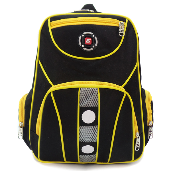 СКИДКА. Тканевый рюкзак. 610/006 yellow