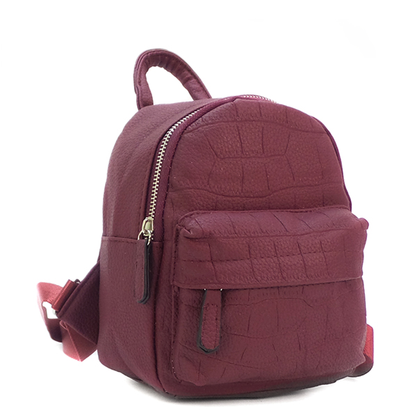 Рюкзак Borgo Antico. 648-1 purple red
