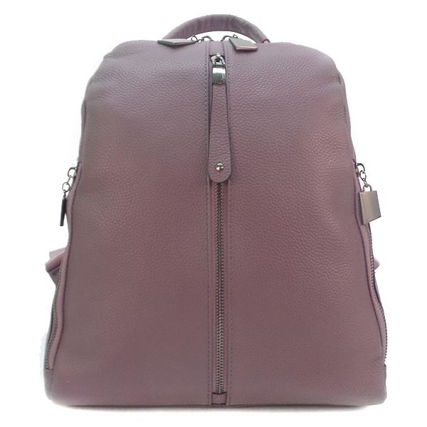 Рюкзак Borgo Antico. Кожа. 7177 purple