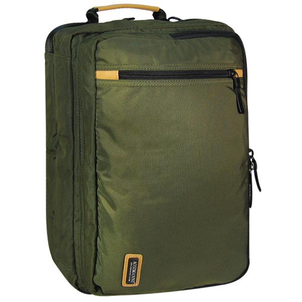 Сумка-рюкзак ASMN. AO 073 green