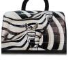 Женская сумка-рюкзак Borgo Antico. TH 0007 black zebra