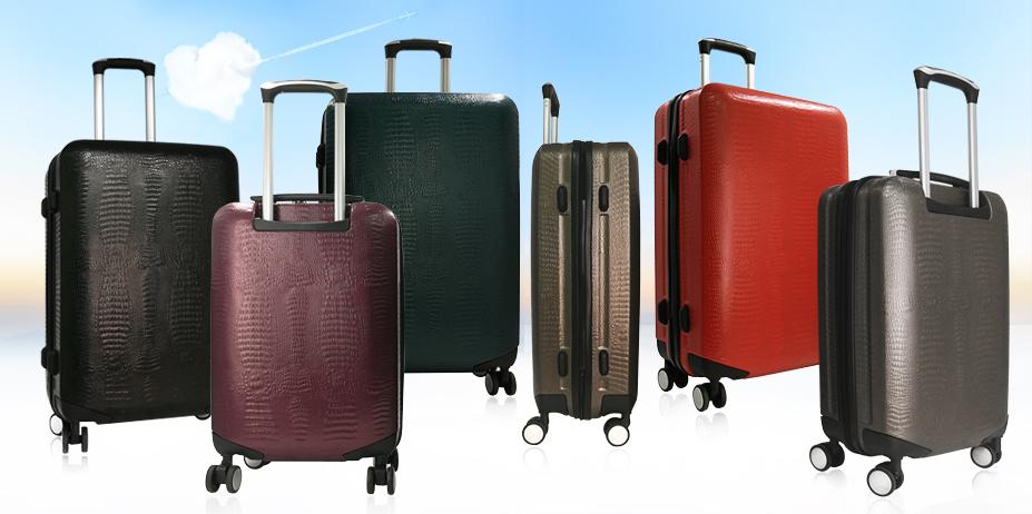 Пластиковые чемоданы. Новинка!