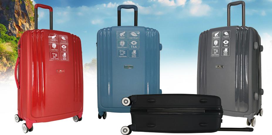 Ударопрочные чемоданы!