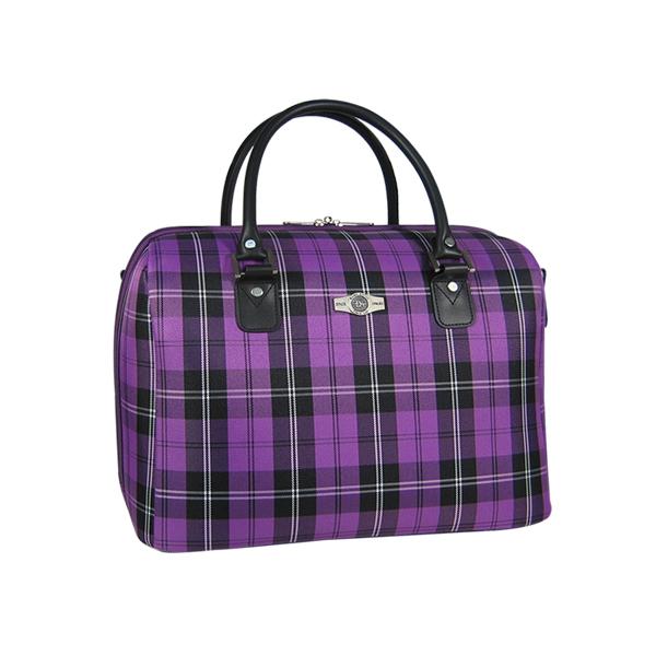 "Бьюти-кейс Borgo Antico. 5093 purple 14"""