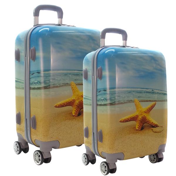 Комплект чемоданов. 0088 beach