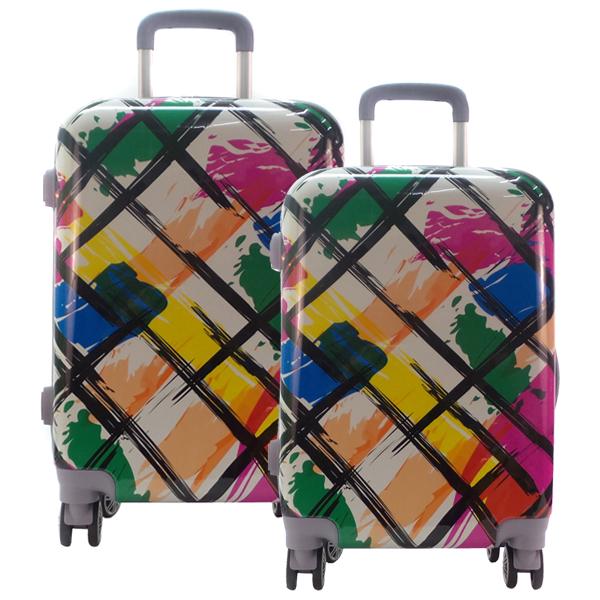 Комплект чемоданов. 0088 color check