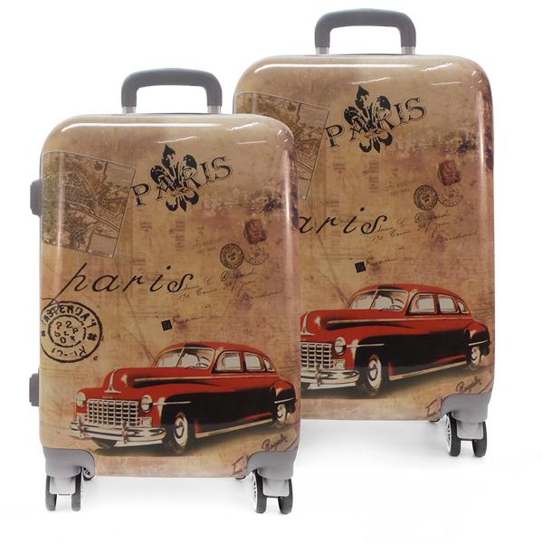 Комплект чемоданов. 0088 paris auto
