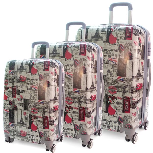 Комплект чемоданов. 0099 postmarks