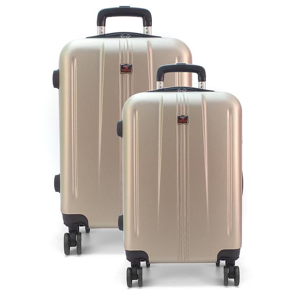 Комплект чемоданов. 217 gold
