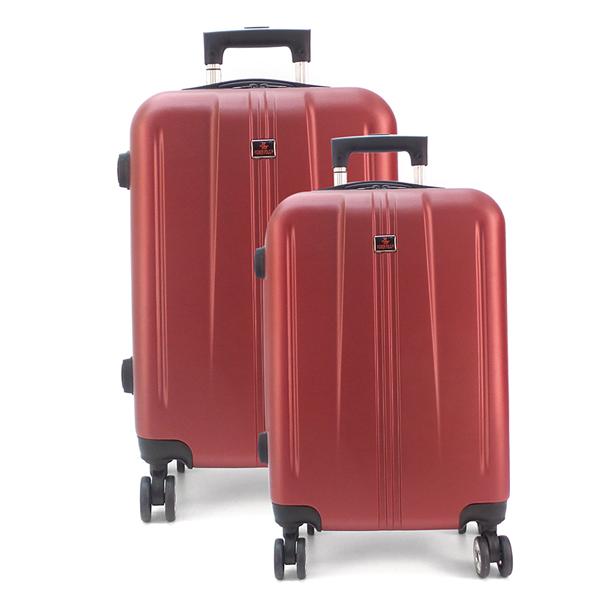 Комплект чемоданов. 217 red