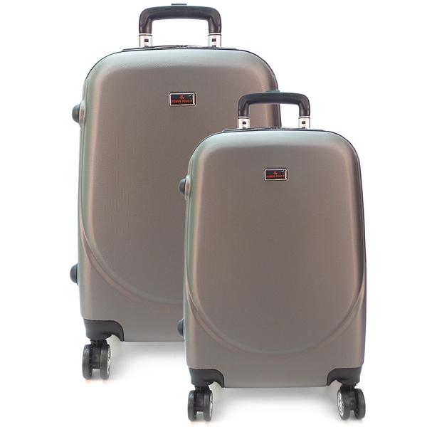 Комплект чемоданов. 360 (609) grey