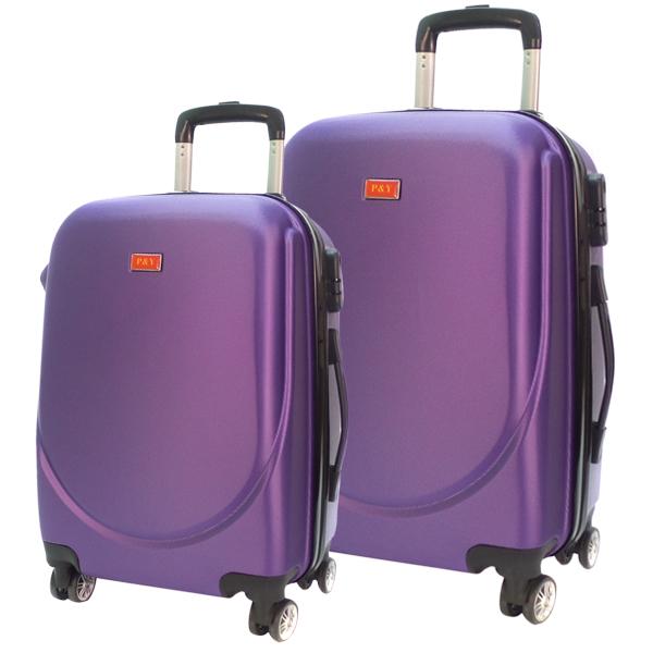 Комплект чемоданов. 360 purple