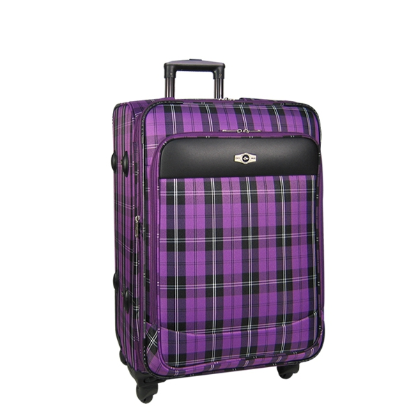 """Чемодан Borgo Antico. 5093 purple 21"""""""
