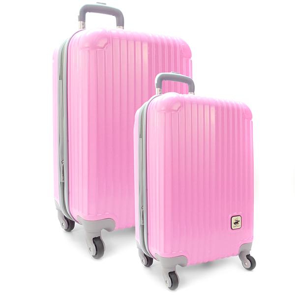 Комплект чемоданов. 609 pink