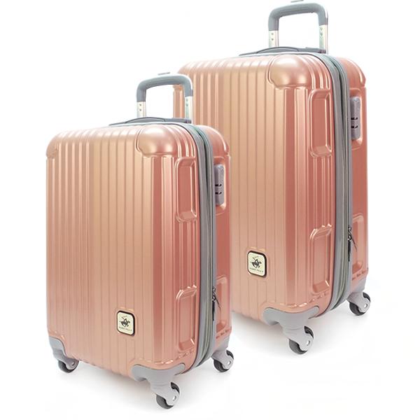 Комплект чемоданов. 609 rose gold