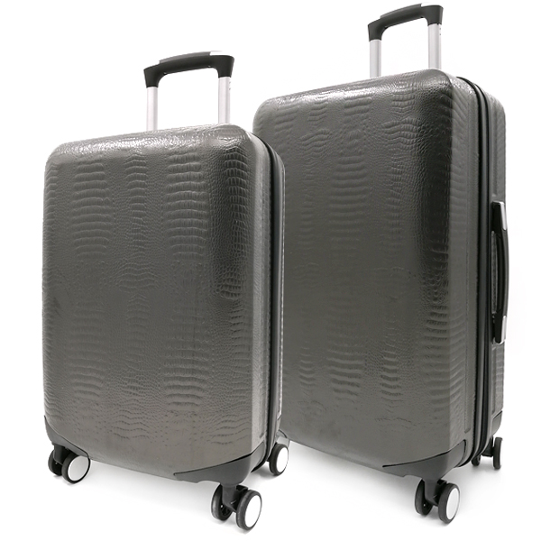 Комплект чемоданов. ABS 8029 EY/609 grey (4 колеса)