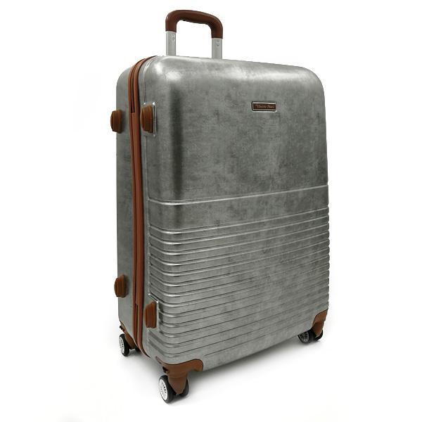 "Чемодан. PC-8007-BW silver 26,5"" (4 съемных колеса)"