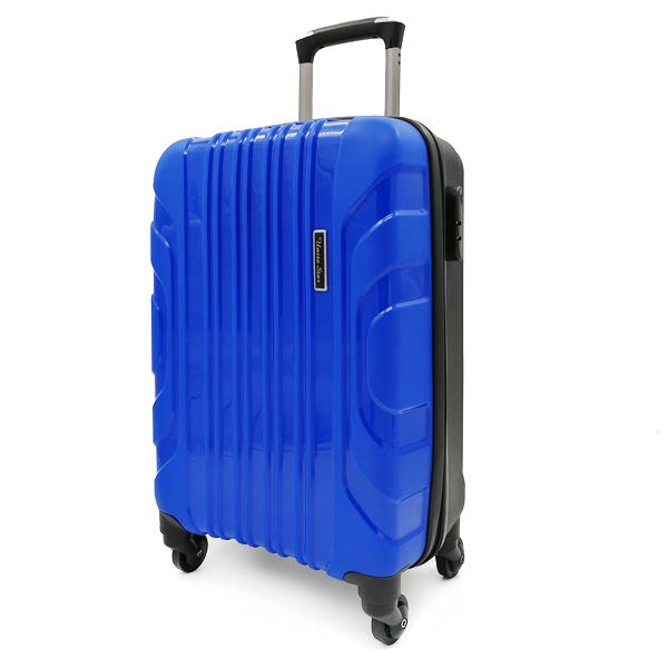 """Чемодан. PP-02 blue 20"""" (4 колеса)"""
