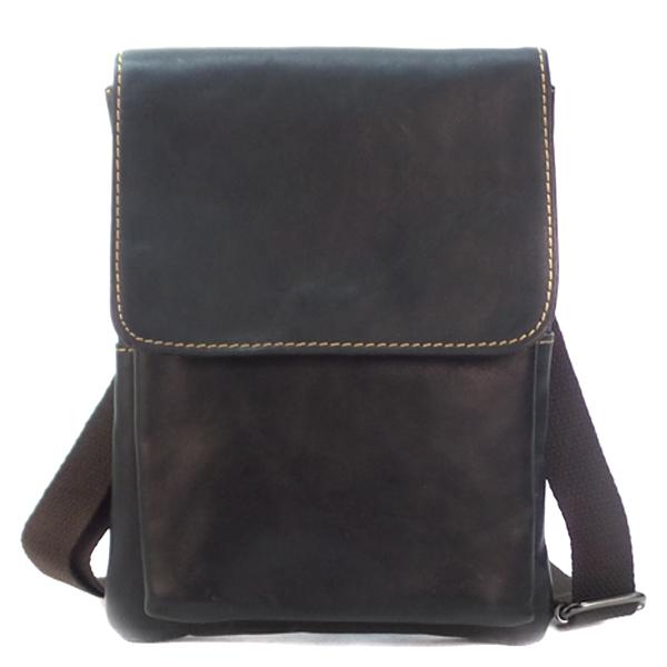 Мужская сумка Borgo Antico. Кожа. 008 black