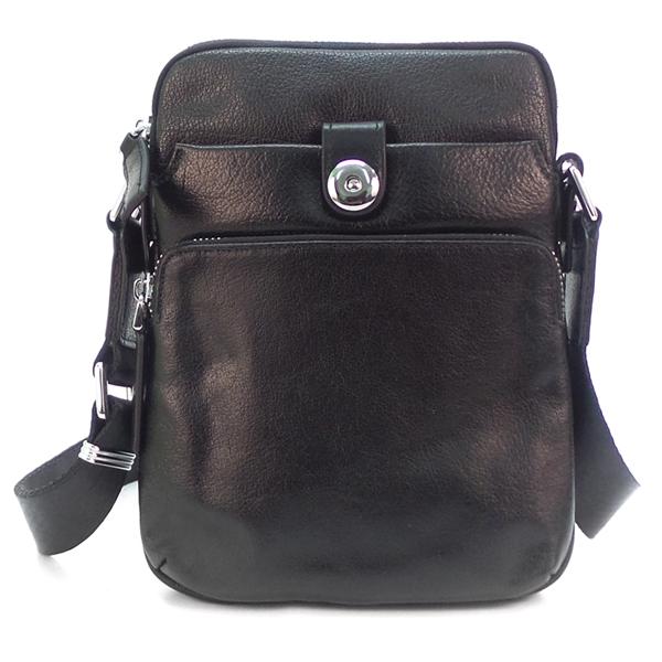 Мужская сумка Borgo Antico. Кожа. 1064-1 black