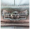 Мужская сумка Ruff Ryder. Кожа. 1859 black