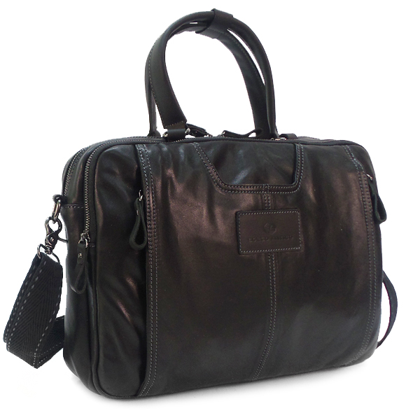Мужская сумка Borgo Antico. Кожа. 2048/6148 black BA