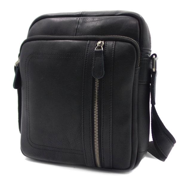 Мужская сумка Borgo Antico. Кожа. 2064/8634 black