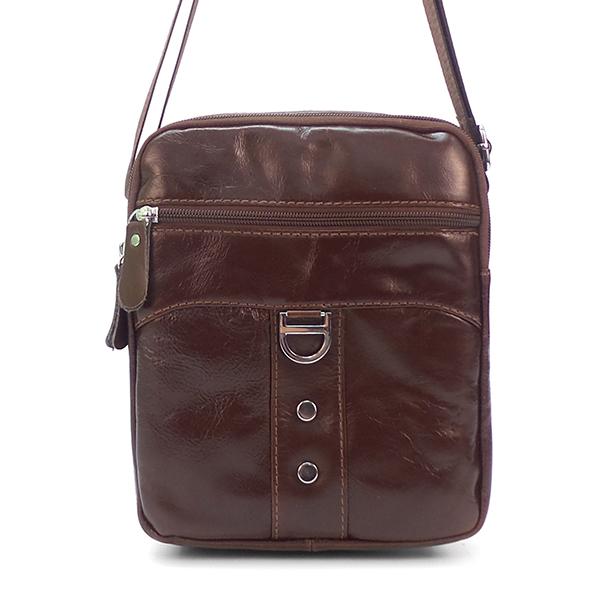 Мужская сумка Borgo Antico. Кожа. 2628 brown