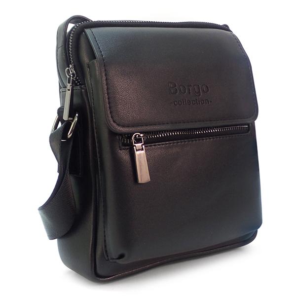 Мужская сумка Borgo Antico. 3022-2 black