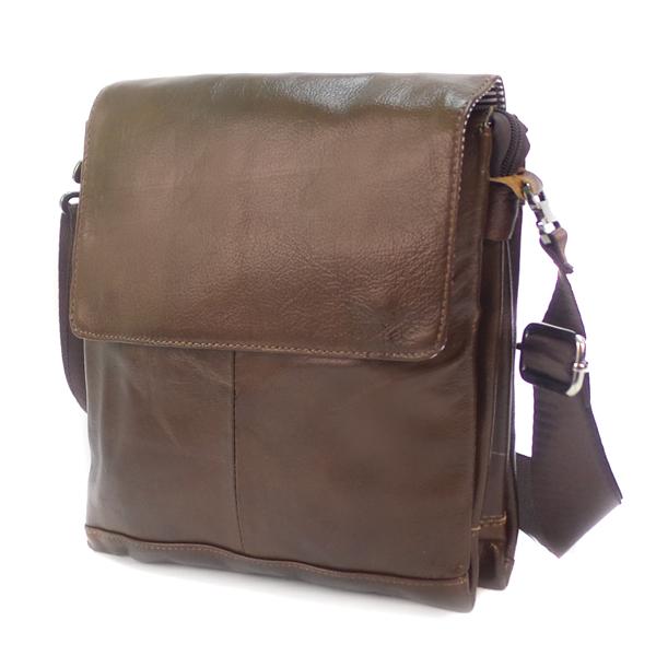 Мужская сумка Borgo Antico. Кожа. 3046 coffee