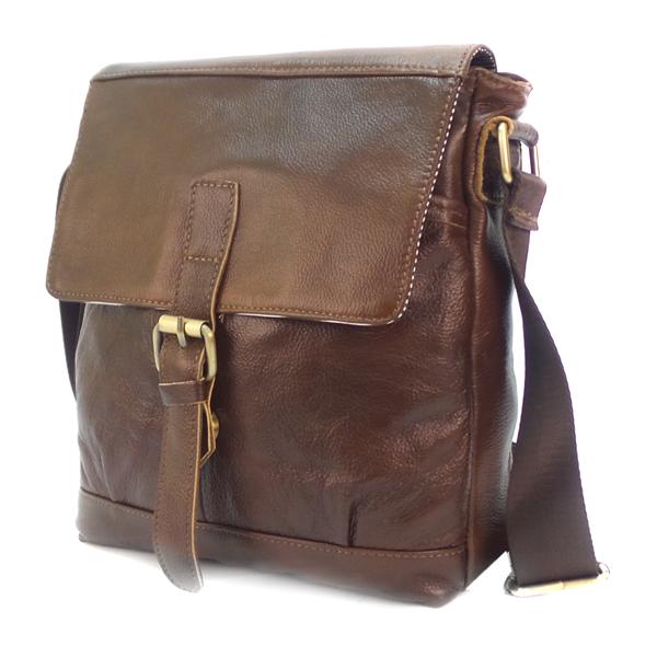 СКИДКА. Мужская сумка Borgo Antico. Кожа. 3048/L613-3 coffee